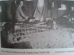 nurses on bamboo beds