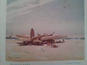 refuelling a bomber