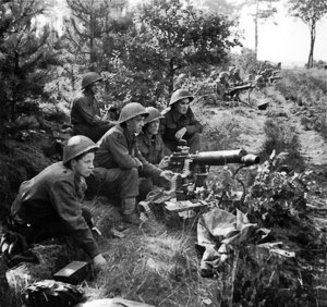 Vickers_machine-guns_fire_in_support_of_troops_crossing_the_Maas-Schelde_Canal