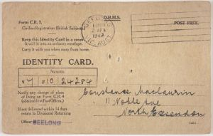 ID card Museum Vic 1125134