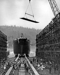 Launching-of-SS-William-Clark